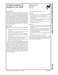 Application Note 1155 A Simple Software I2C ... - Texas Instruments