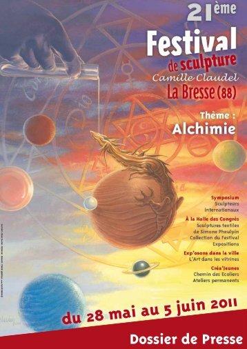 Festival de Sculpture Camille Claudel 28 mai au 5 juin 2011