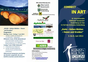 Prospekt_BS2013.pdf - und Kulturforum Stubenberg