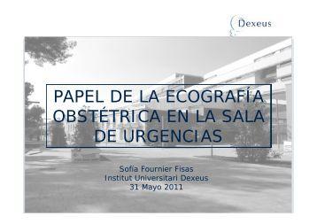 PAPEL DE LA ECOGRAFÍA OBSTÉTRICA EN LA SALA DE ...