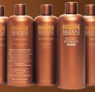 PRODUCT REFERENCE GUIDE - Mizani