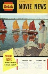 Kodak Movie News; Vol. 7, no. 2; Summer 1959
