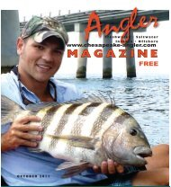 download october 2011 issue - Chesapeake Angler