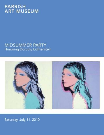 MidSuMMer Party - Agenda Graphics