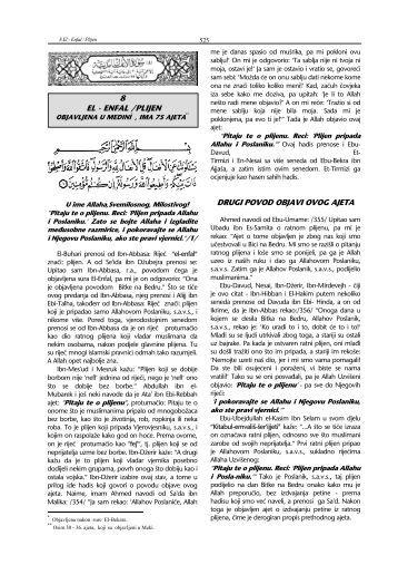 tefsir sure - Al-Anfal - pogledati - Islamska zajednica u Hrvatskoj