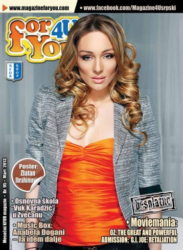 Mart 2013 - Magazine For You