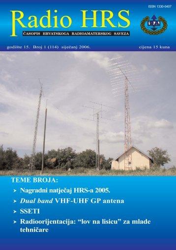 Radio HRS 1/06 - Hrvatski Radioamaterski Savez