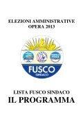 Programma Elettorale - Ettore FUSCO SINDACO DI OPERA - Page 6