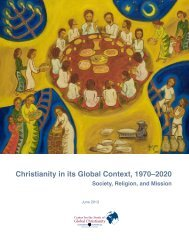 Christianity in its Global Context, 1970–2020