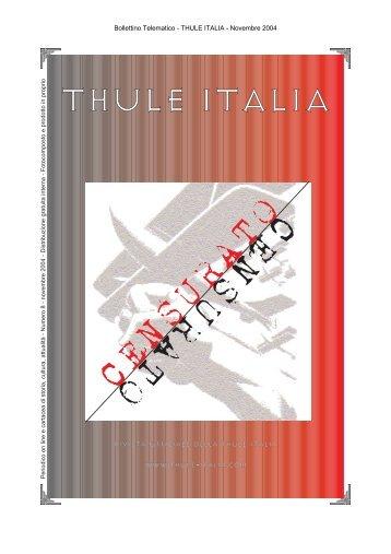 CENSURATO CENSURATO - thule-italia.org