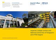 Imperial-NUS-Joint-PhD-Programme