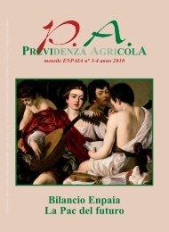 Bilancio Enpaia La Pac del futuro - Fondazione ENPAIA