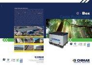 Casse Riutilizzabili e - Box - Chimar - imballaggi industriali