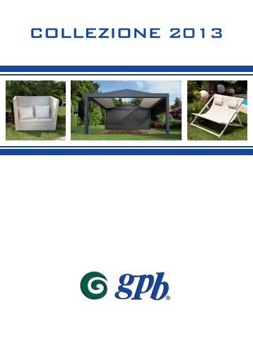 Catalogo GPB - spazio giardino