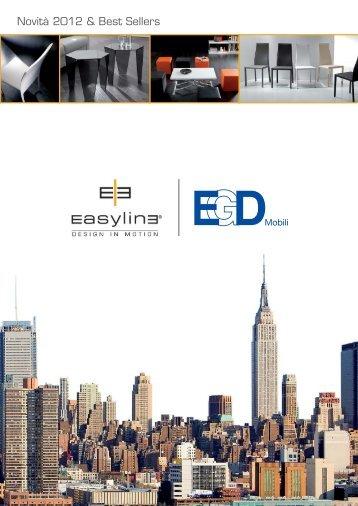 Novità 2012 & Best Sellers - EGD Mobili
