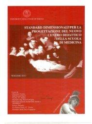 Standard dimensionali per la progettazione - Università degli Studi ...