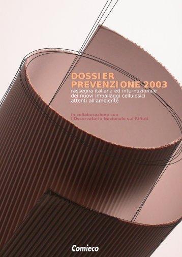 Dossier Prevenzione 2003 - file PDF - Comieco
