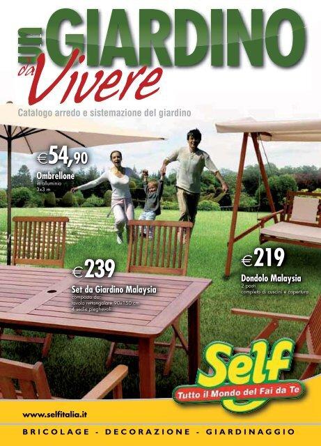 Tavoli Da Giardino Self.Sedie Tavoli Lettini Arre