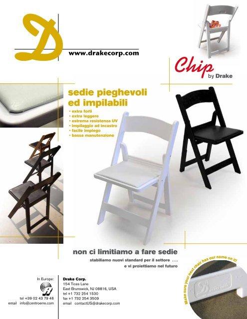 Ikea Sedie Pieghevoli Ed Impilabili.Sedie Pieghevoli Ed Impilabili Drake Corp