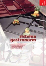 sistema gastronorm