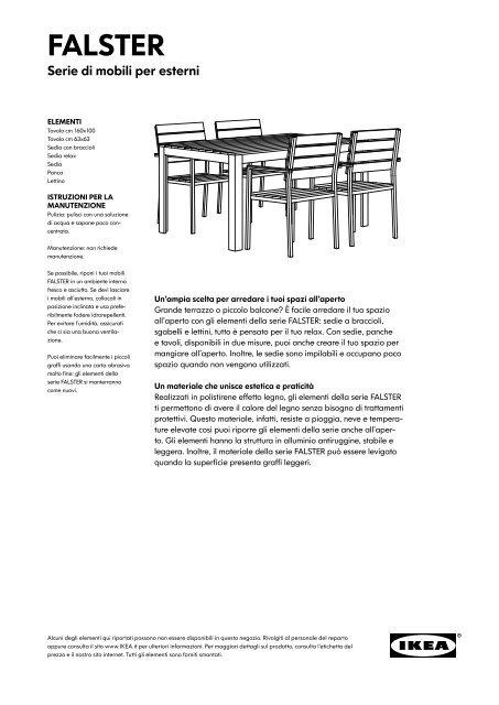 Le Sedie Di Ikea.Falster Ikea