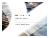 Welcoming Address - SPT Group Internet