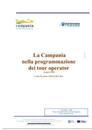 La Campania nella programmazione dei tour operator - ONT ...