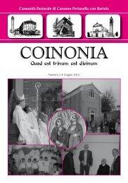 Coinoina N. 2 - Giugno 2012 - Coinonia