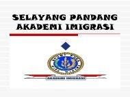 selayang pandang akademi imigrasi - BPSDM Hukum dan HAM