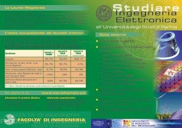 Studiare Ingegneria Elettronica all'Università degli Studi di Parma