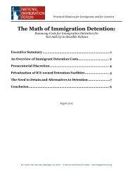 Terri Jones - National Immigration Forum