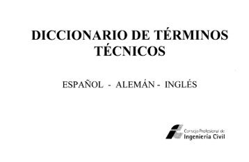 DICCIONARIO DE TERMINOS TECNICOS