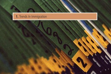 1. Trends In Immigration - Canadian Labour and Business Centre