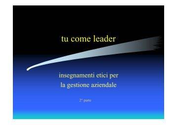 tu come leader - Collegio Ipasvi Latina