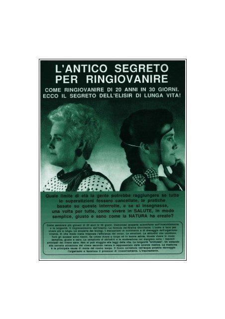 L_antico_Segreto_per_Ringiovanire