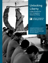 Unlocking Liberty: A Way Forward for US Immigration - LIRS