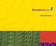 Guida dell'utente - Rosetta Stone