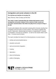 Immigration and social cohesion in the UK - Joseph Rowntree ...
