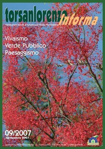 Vivaismo Verde Pubblico Paesaggismo - Gruppotorsanlorenzo