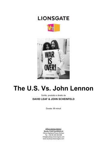The U.S. Vs. John Lennon - Studio PUNTOeVIRGOLA