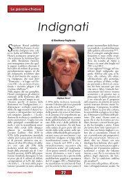 Indignati, di Gianfranco Pagliarulo - Anpi