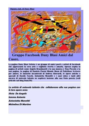 Gruppo Facebook Dany Blasi Amici dal Cuore. - Poesie e Arte Dany ...