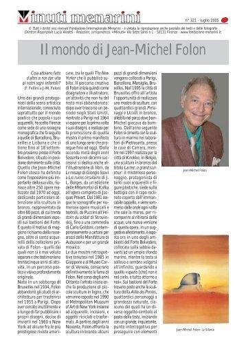 Il mondo di Jean-Michel Folon - Fondazione Internazionale Menarini