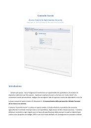 Scarica il foglio informativo del software Controllo Varchi per ...