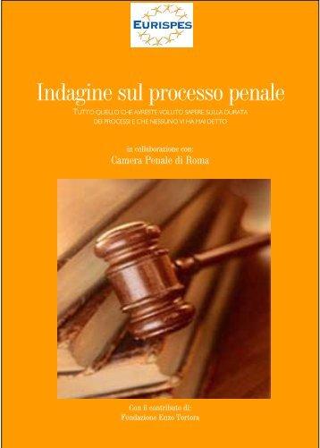 Indagine sul processo penale - Camera penale di Milano