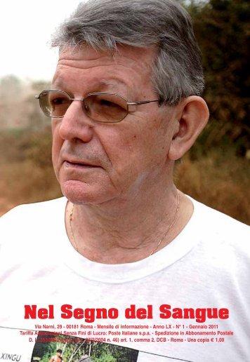 Gennaio 2011 - Centro Studi Sanguis Christi