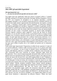 Leggi il saggio di Carlo Sisi - Artelab