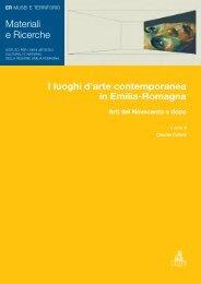 I luoghi d'arte contemporanea in Emilia-Romagna (pdf, 13094 Kb)