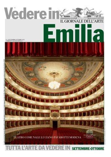 Vedere in Emilia - Il Giornale dell'Arte