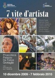 Mostra 7 vite d'artista - Comune di Grottaglie